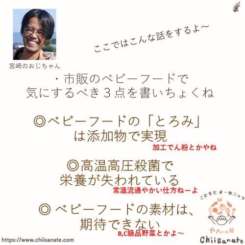 【ママ必見】ベビーフード、添加物や栄養+素材にも注意すべき!(説明画像)