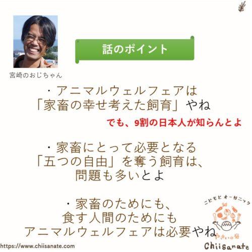 【9割の日本人が知らない】アニマルウェルフェアって何?(説明画像)