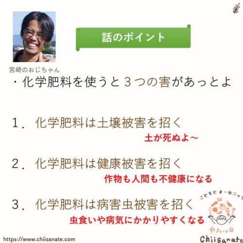化学肥料のデメリットは3つの害(説明画像)